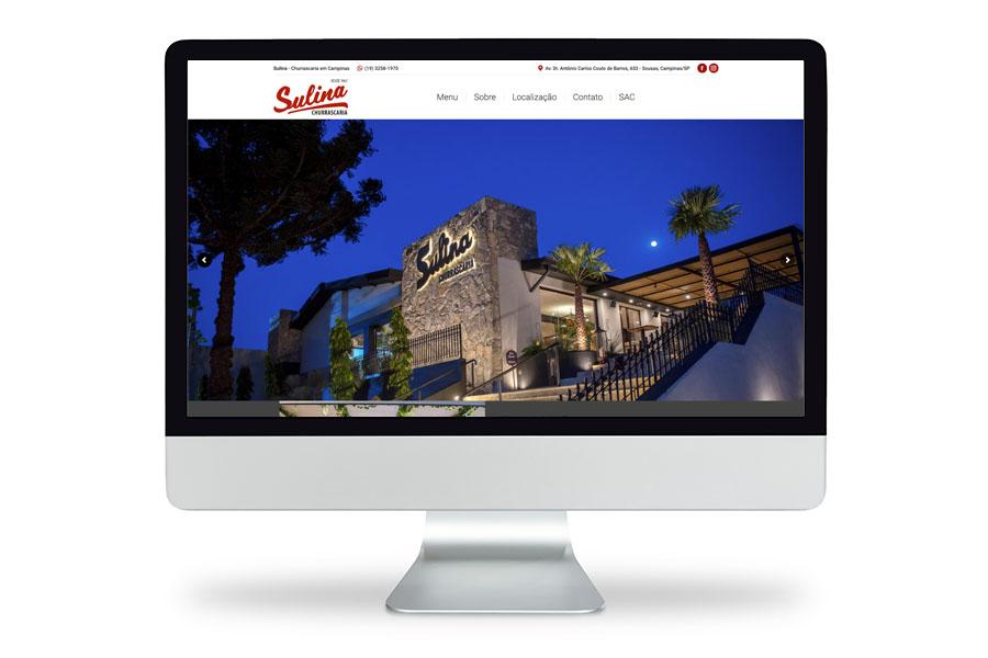 Novo site para restaurante